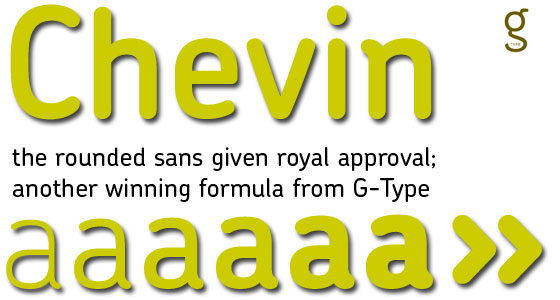 chevin fonts
