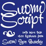 STF Suomi Script font family